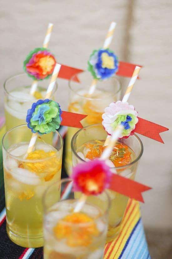10 Dia De Los Muertos (Day of the Dead) Ideas to Bring Your Party to Life: Marigold Muerte Drink